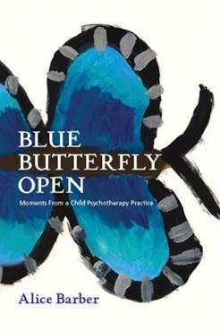 Blue Butterfly Open